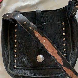 Upcycled designer purse